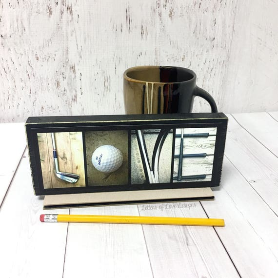 Love Golf Wood Sign Fathers Day Gift Golfer Gifts