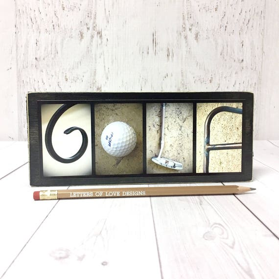 sc 1 st  Etsy & Golf Wood Sign Golfer Gift Golf Gifts for Men Fathers Day | Etsy