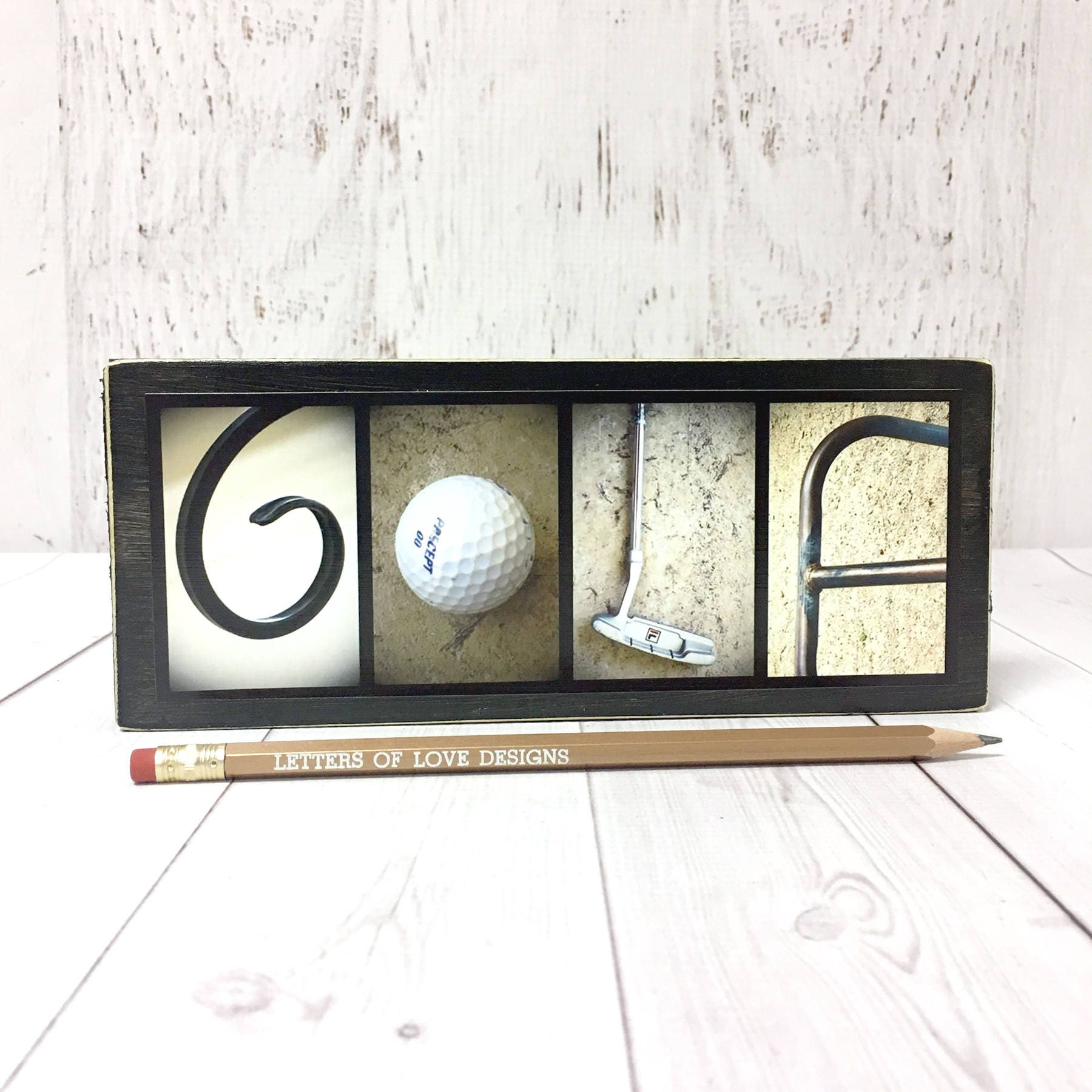 Golf Wood Sign Golfer Gift Gifts For Men Fathers Day