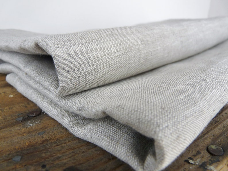 Perfect for bedding pillowcases Solid Oatmeal  linen Linen by the yard apparel.Free Shipping over 50 to USA interior design