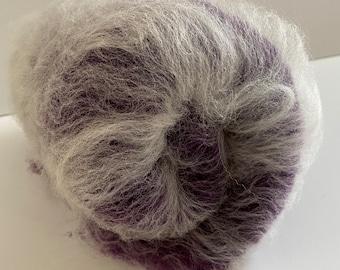 Wool Batt - Babydoll Southdown and BFL