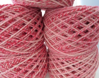 Larger Qty Available - Babydoll Southdown Yarn - Hand dyed - 2 ply