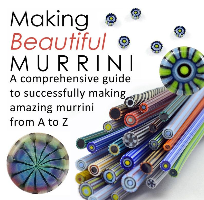 MAKING MURRINI Lampwork Tutorial  eBook  100 Color Photos 50 image 0