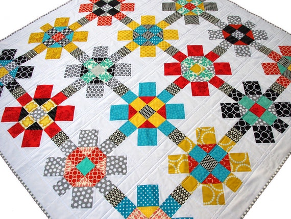 Labyrinth Quilt Pattern Pdf File Immediate Download Etsy
