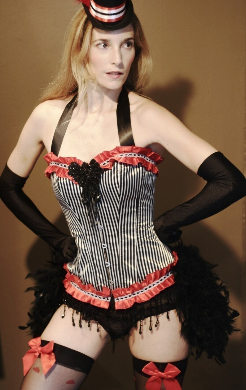 0787d22b4 RINGMASTER Costume Great Gatsby costume Burlesque corset
