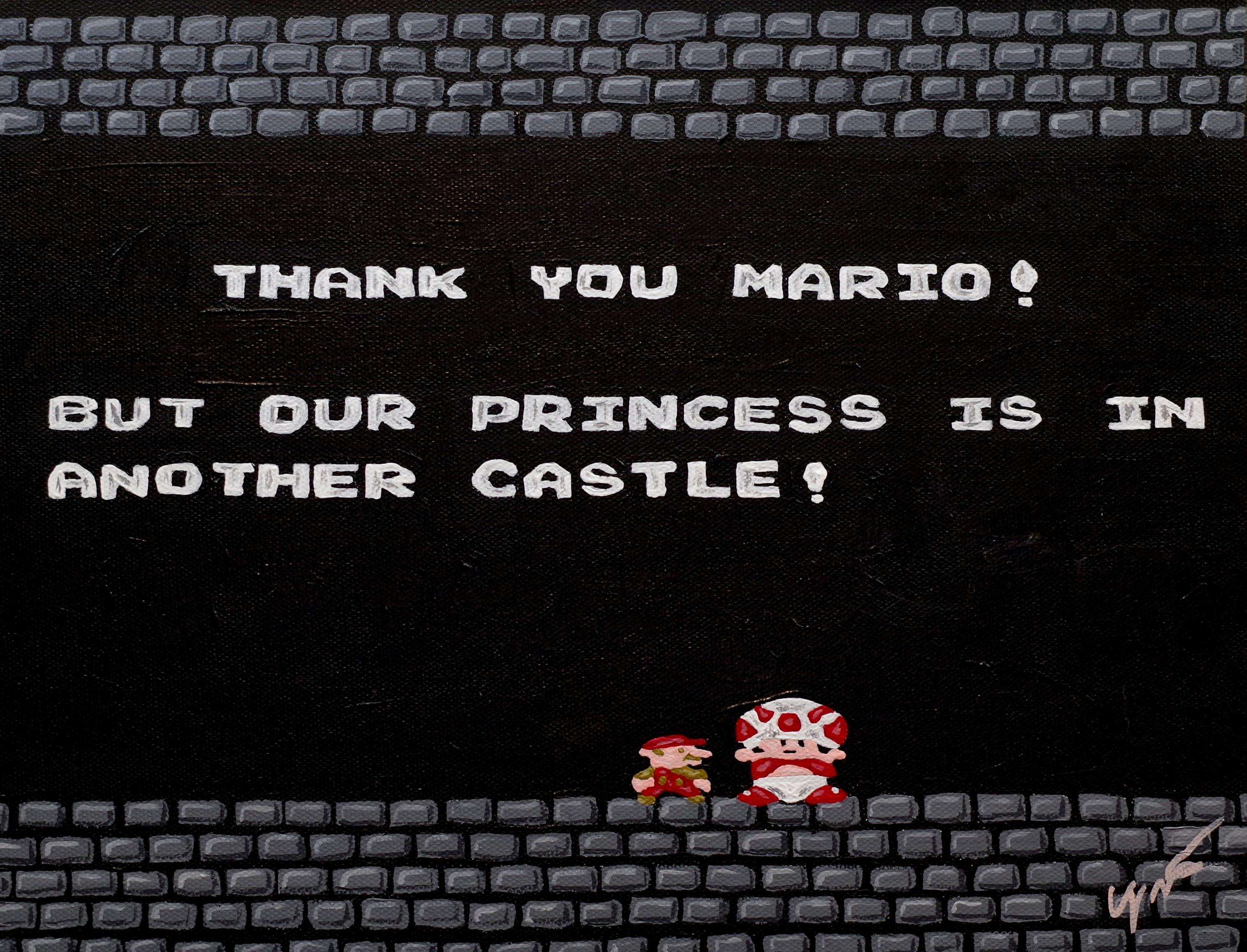 Original Gemalde Von Super Mario Bros Ein Von Einer Art Etsy