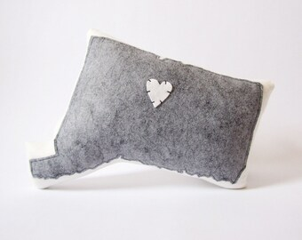 Customizable Connecticut State Pillow