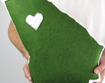 Customizable Georgia State Pillow
