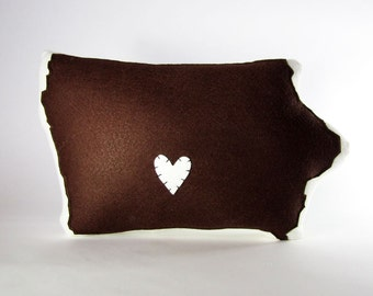 Indoor Customizable Iowa State Pillow