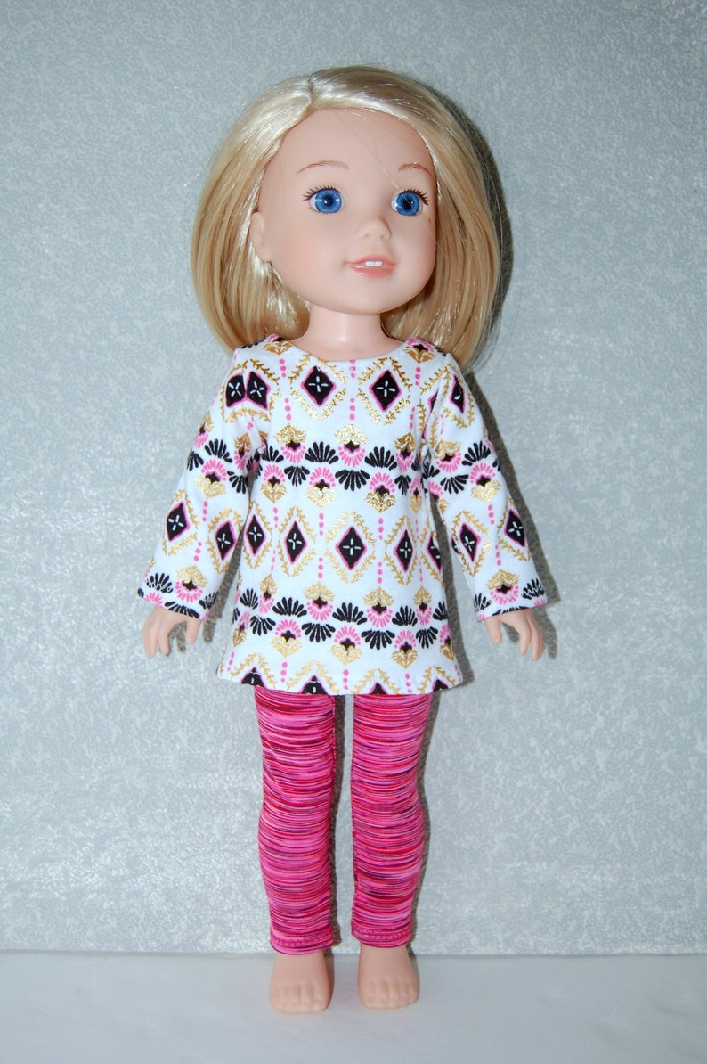 """Underpants for 14/"""" Wellie Wishers Doll Clothes by TKCT Pink"""