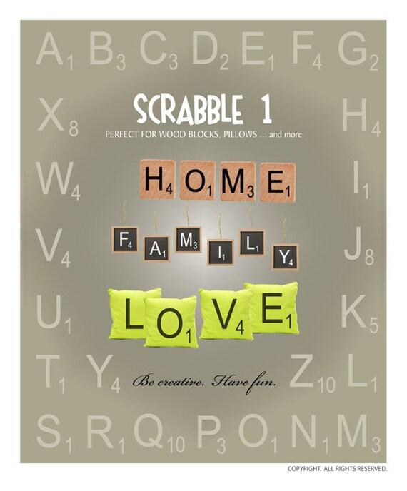 scrabble letters svg files scrabble tile svg scrabble letter etsy