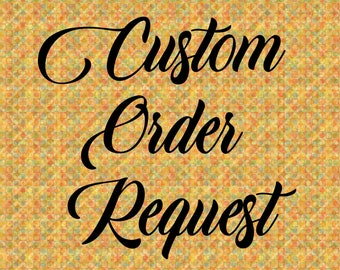 Custom Order Request Charge
