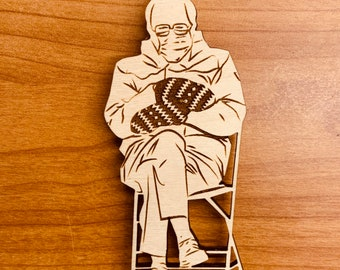 Bernie's Mittens Magnet, Free shipping in the US!