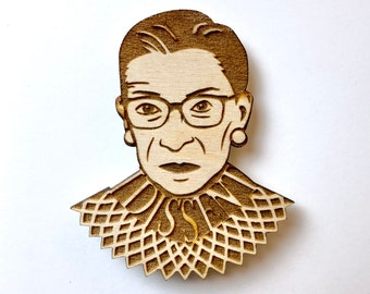 Wooden RBG Magnet, Free shipping in the US!