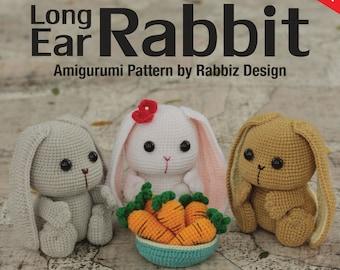 Amigurumi Long Ear Rabbit