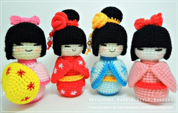 Kokeshi Doll: Free Pattern. – Hipikaktus | 362x570