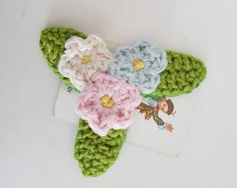 Flower Bed brooch