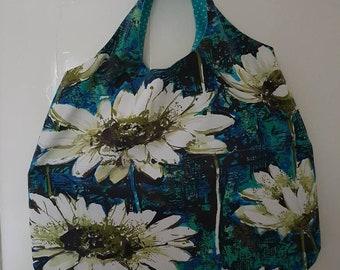 Vintage cotton Happy Shopper Bag