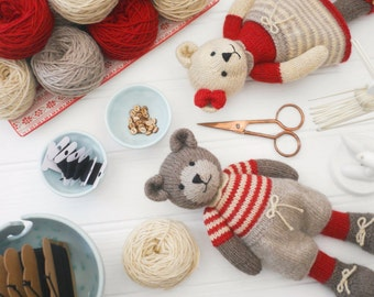 6635af79e Original doll and animal toy knitting by maryjanestearoom on Etsy