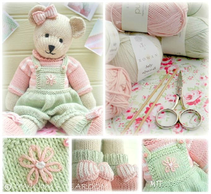 Candy Bear Toy Teddy Bear Knitting Pattern Pdf Plus Free