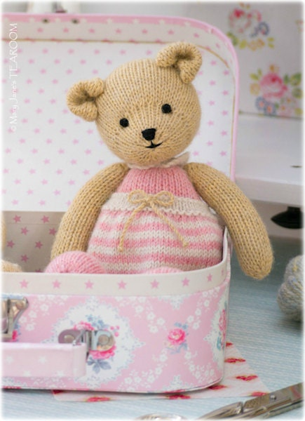 Girl Bear Knitting Pattern Pdf Instant Download Method 1 Tearoom