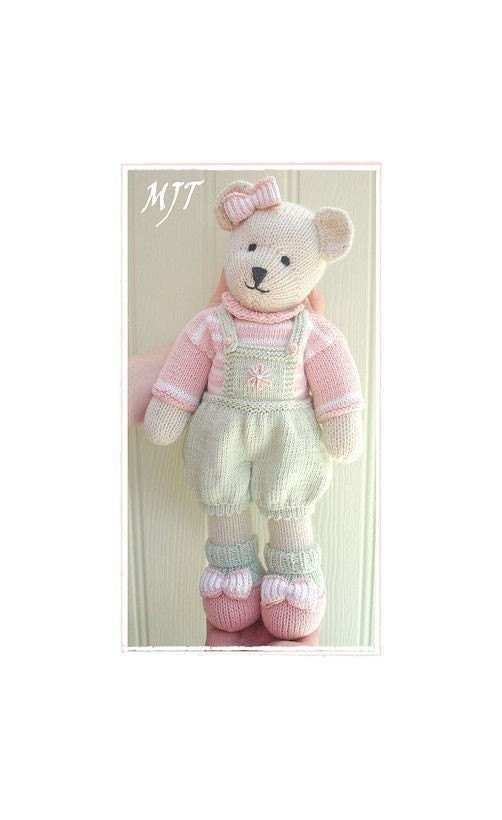 Candy Bear Toy Teddy Bear Knitting Pattern Pdf Plus Free