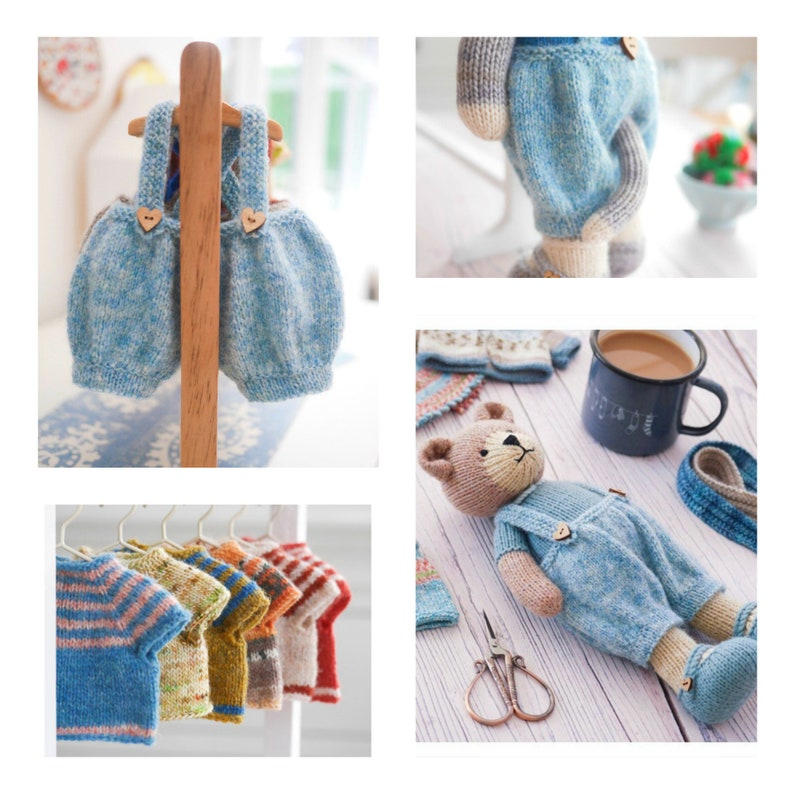 NEW Tearoom 'Baggy Trousers & Top'/ Doll Clothes/ PDF image 0