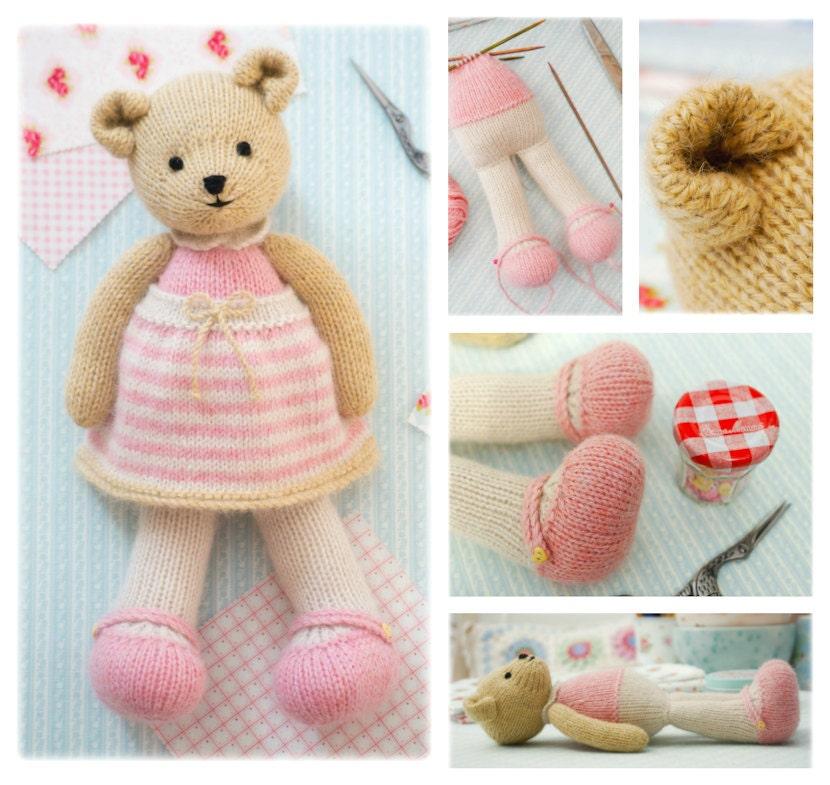 Girl Bear Knitting Pattern Pdf Instant Download Method 1 Tearoom