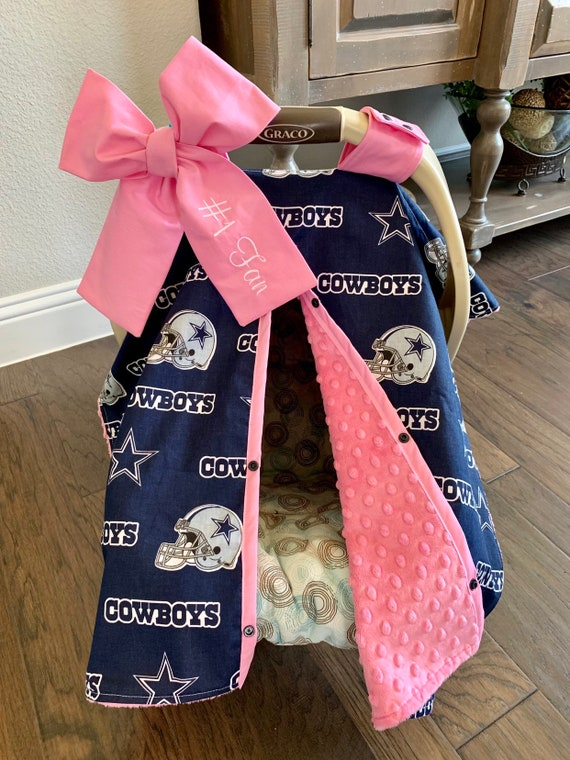 Mod Baby Car Seat Covers Dallas Cowboys, Football Car Seat Covers
