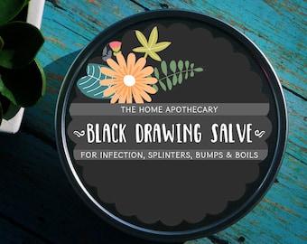 Black Drawing Salve /// <<<
