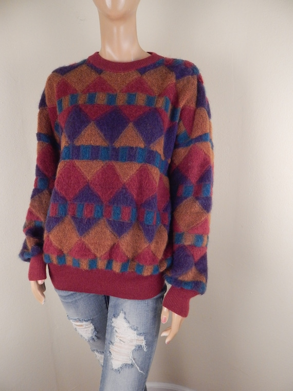 men missoni sweater, missoni pullover, vintage mis