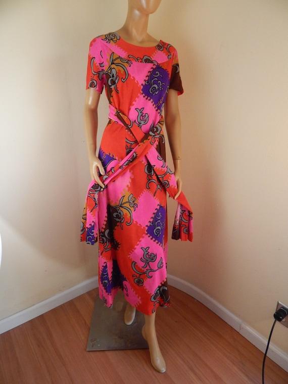 Vintage hawaiian dress, cotton hawaiian dress, ba… - image 2