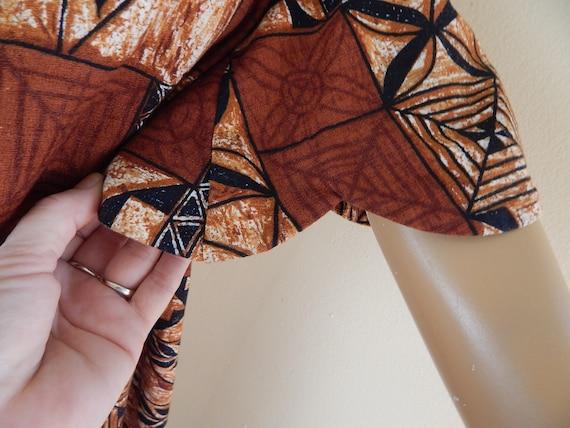 Vintage Hawaiian muumuu, tapa cloth, tahitian muu… - image 5