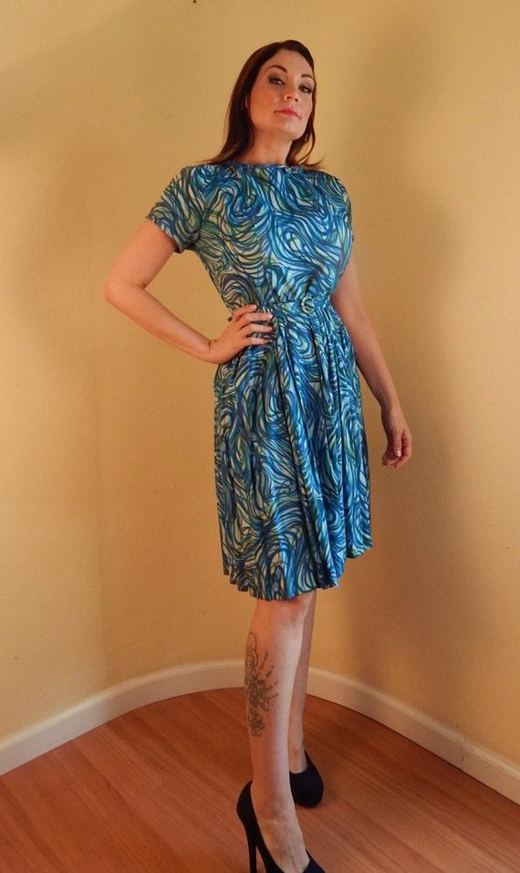 1960s dress, Mod o Day Daydress, mid century dress