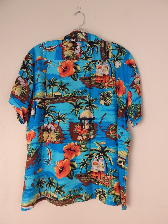 vintage hawaiian shirt, aloha shirt, slinky aloha… - image 5