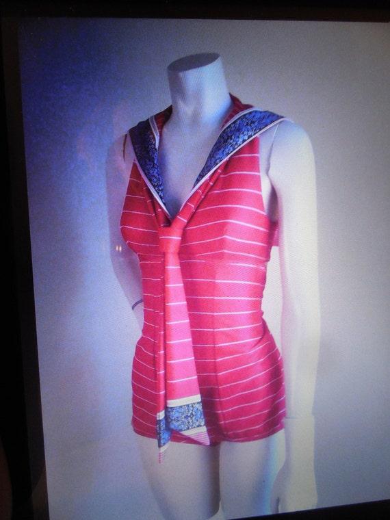 Womens Swimsuit , one piece , Double knit  Stilett