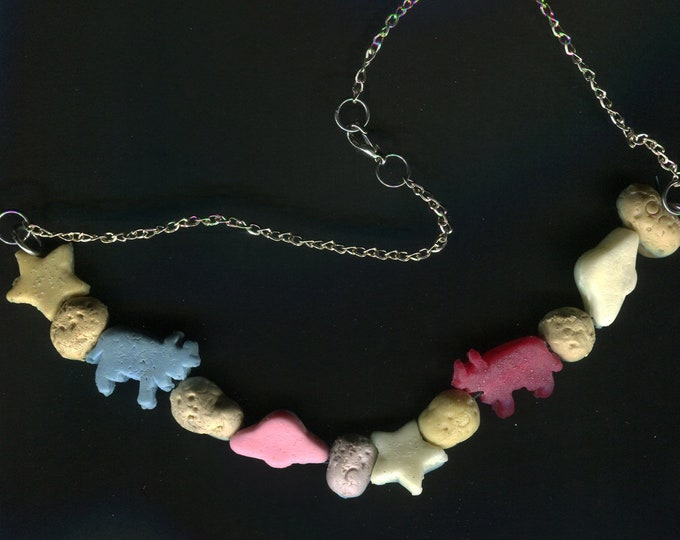 Creepy Crunch Cereal Necklace - Alien Abduction Mix 102