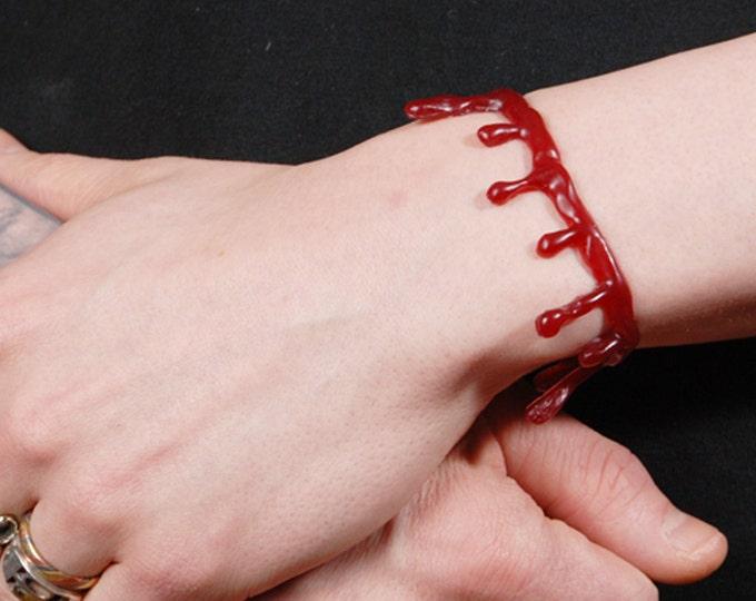 Blood Drip Bracelet Monster High - Dark Red Blood SET