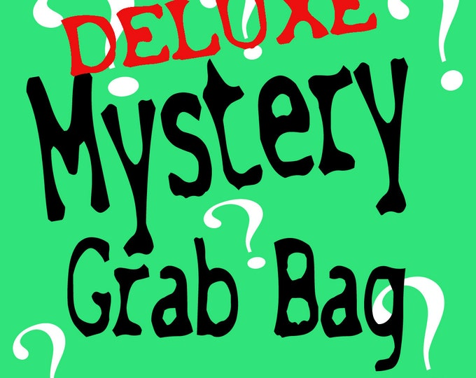 Stitches, Blood Drip Scratch and Dent  MYSTERY grab bag BRIGHT COLOR Mix