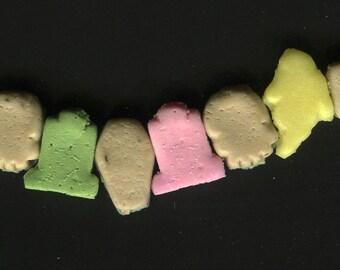 Creepy Crunch Cereal Bracelet - Creepy Cute -Ghoulish Graveyard Mix #5
