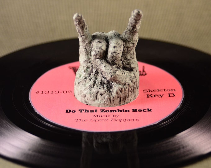 Zombie Rock 45  RPM Record adapter