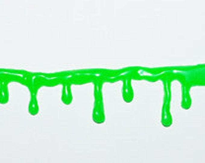 Toxic zombie  Drip  Bracelet - GLOW in the dark