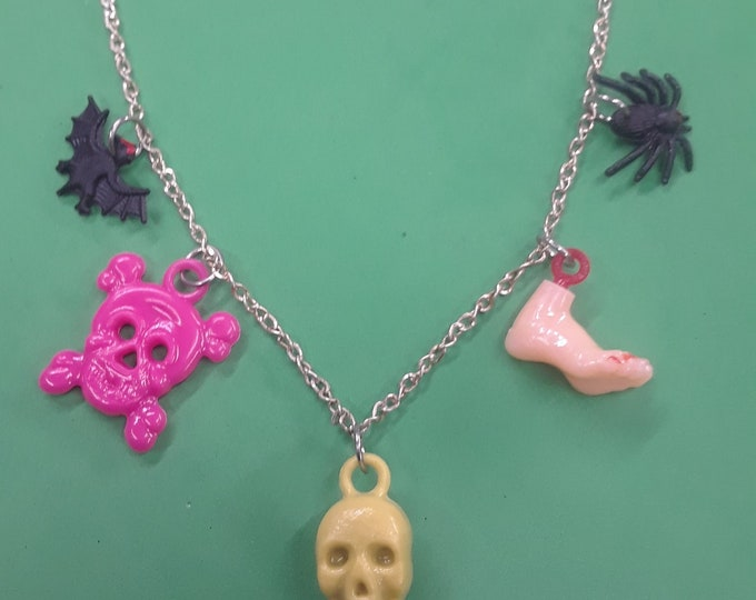 Gumball Charm Necklace