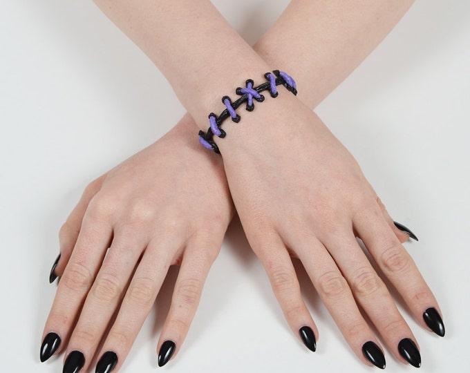 The Original Von Erickson Stitches Bracelet Purple