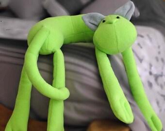 Green Cat Neck-Pillow