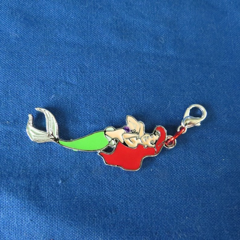 Little Mermaid Zipper Pull