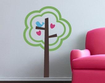 Tree of Love - Vinyl Wall Decal - Children Nursery Decor