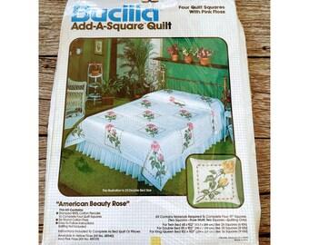 1992 Vintage 17 Keepsake Doll with Guardian Angel Kit OOP Bucilla Stamped Embroidery 33269