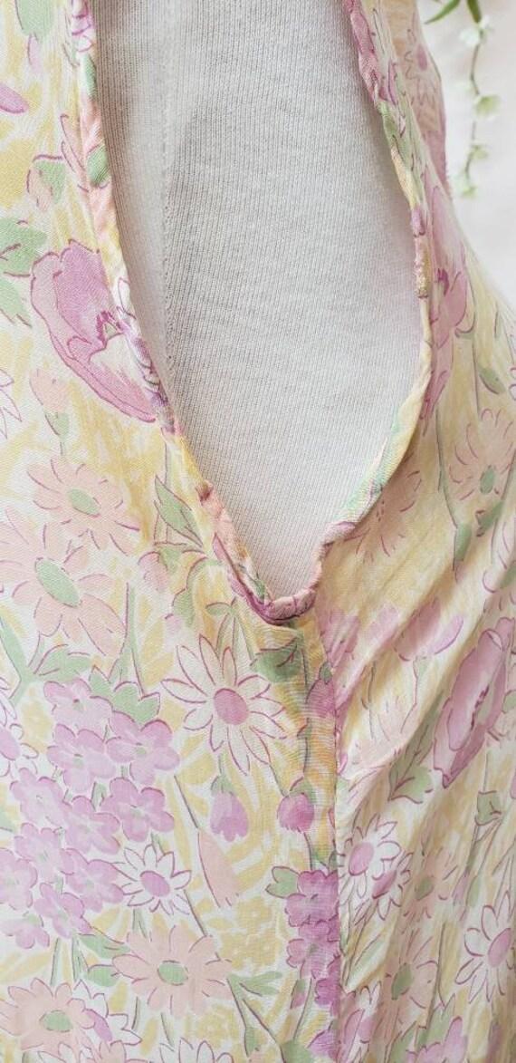 1920's floral dress Gatsby Deco vintage dress - image 6