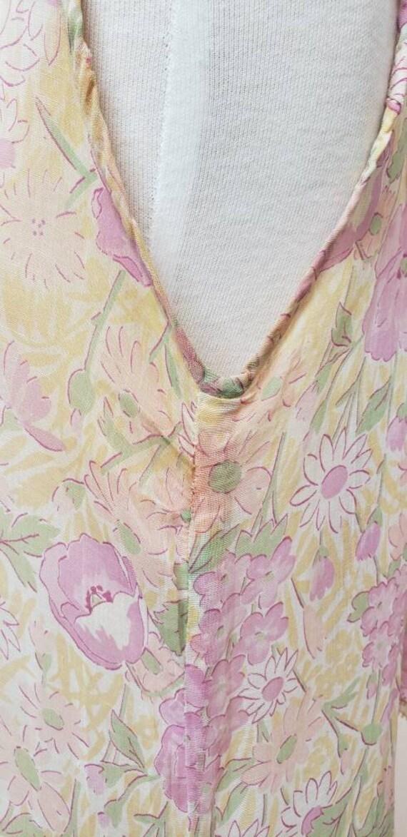 1920's floral dress Gatsby Deco vintage dress - image 5